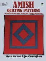 Amish Quilting Patterns
