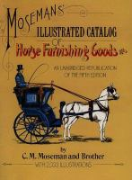 Moseman's Illustrated Catalog of Horse Furnishing Goods