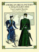 American Dress Pattern Catalogs, 1873-1909
