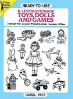 Ready-to-use Illustrations of Toys, Dolls and Games