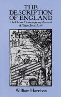 The Description of England