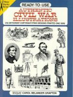 Ready-to-use Authentic Civil War Illustrations