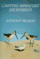 Carving Miniature Shorebirds
