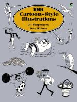 1001 Cartoon-style Illustrations