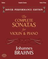 The complete sonatas for violin and piano