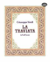 Traviata in Full Score