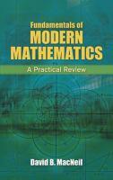 Fundamentals of Modern Mathematics