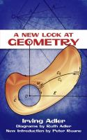A New Look at Geometry