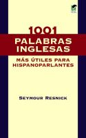 1001 Most Useful English Words for Spanish-speaking People