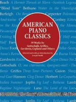 American Piano Classics