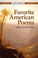 Favorite American Poems