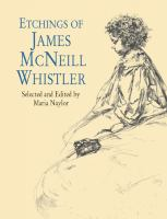 Etchings of James McNeill Whistler