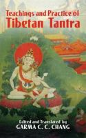 Teachings and Practice of Tibetan Tantra