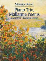 Piano trio, Mallarmé poems and other chamber works