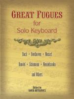 Great Fugues for Solo Keyboard