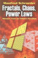 Fractals, Chaos, Power Laws