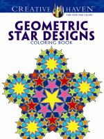 Geometric Star Designs Coloring Book