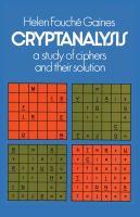 Cryptanalysis