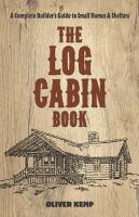 The Log Cabin Book