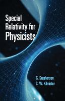 Special Relativity for Physicists