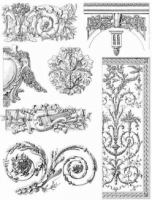 French Decorative Designs of the 18th Century