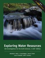 Exploring Water Resources
