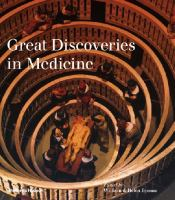 Great Discoveries in Medicine