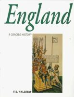A Concise History of England From Stonehenge to the Atomic Age