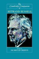 The Cambridge Companion to Bertrand Russell