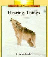 Hearing Things