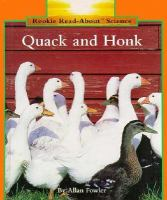 Quack and Honk