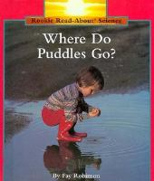 Where Do Puddles Go?