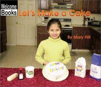 Let's Make A Cake