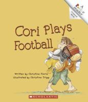 Cori Plays Football