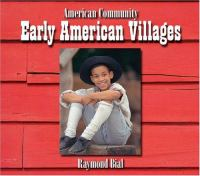 Early American Villages