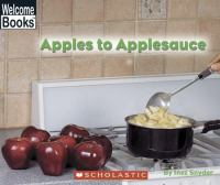 Apples to Applesauce
