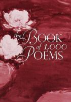 The Book of 1,000 Poems