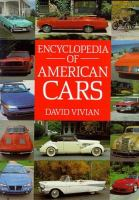Encyclopedia of American Cars
