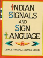 Indian Signals and Sign Language