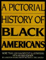A Pictorial History Of Blackamericans