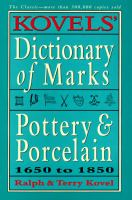 Kovel's Dictionary of Marks
