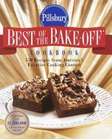 Pillsbury Best of the Bake-off Cookbook