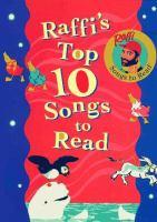 Raffi's Top 10 Songs to Read