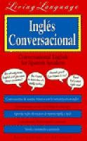 Living Language Conversational English for Spanish Speakers