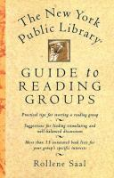 The New York Public Library Guide to Reading Groups