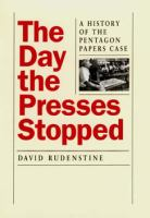 The Day the Presses Stopped