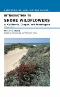 Introduction to the Shore Wildflowers of California, Oregon, and Washington