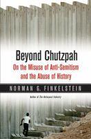 Beyond Chutzpah