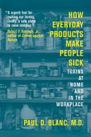 How Everyday Products Make People Sick