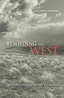Rewilding the West